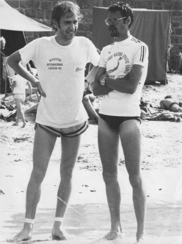 1987 - 1er des 20km de Bordeaux en 59'58'' - Coupe remise par Michel JAZY ( ex recordman du monde du mile , 2000m ... et vice-champion olympique du 1500m à Rome 1960). Un mois plus tard Marathon de Londres en 2h13'51'' (16ème) - 30 ans -